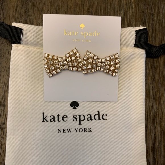 kate spade Jewelry - Kate Spade Earrings Color Gold